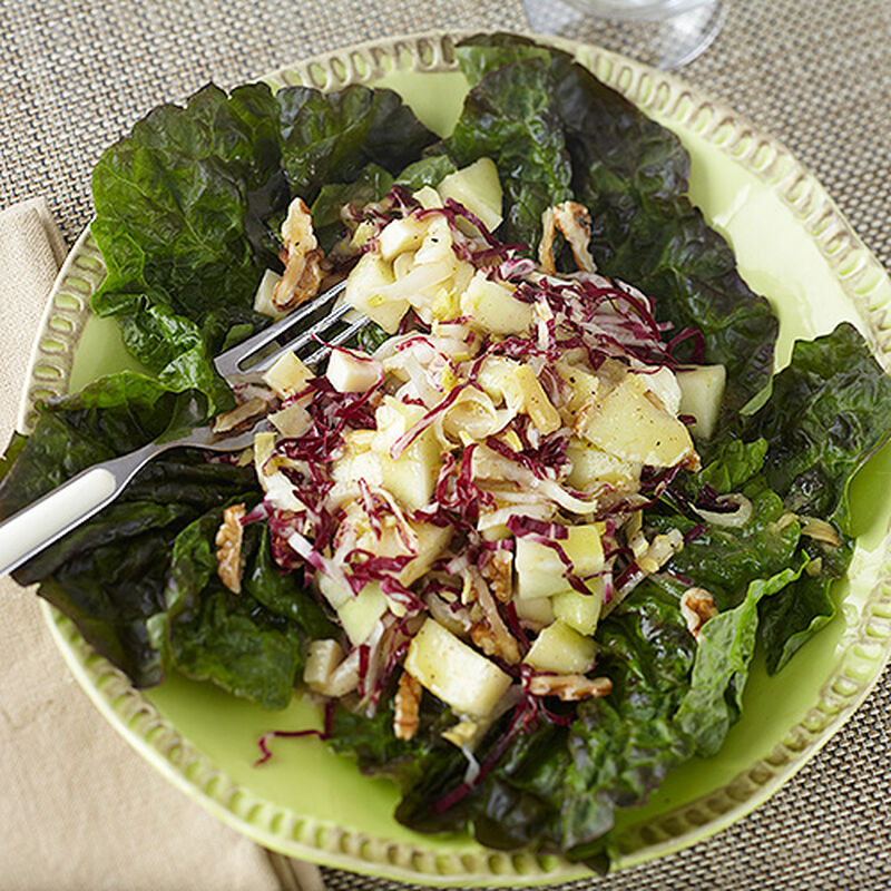 Endive, Apple and Walnut Salad