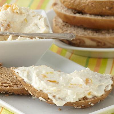 Peach Amaretto Cream Cheese Spread