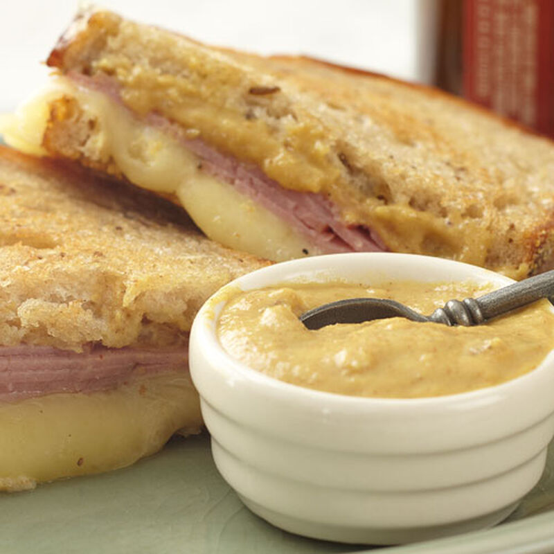 Grilled Pastrami & Cheese Sandwich