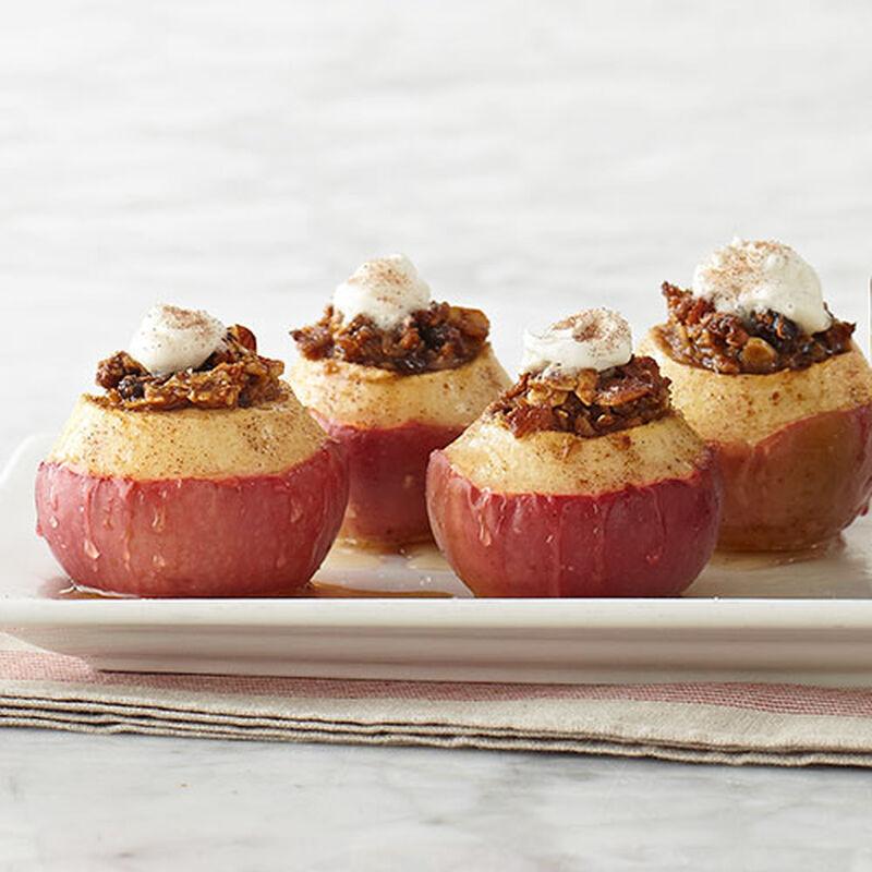 Caramel Apple Baked Apples