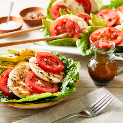 Tomato, Avocado and Mozzarella Salad