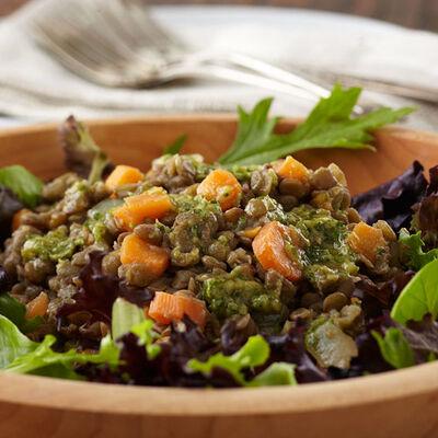 Lentil Salad with Mustard Vinaigrette