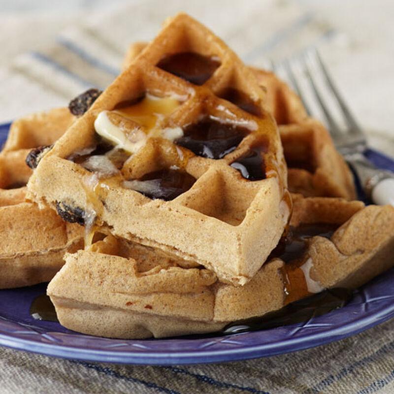 Cinnamon Raisin Waffle