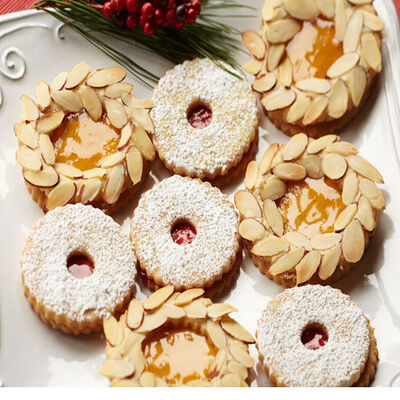 Apricot Almond Wreaths