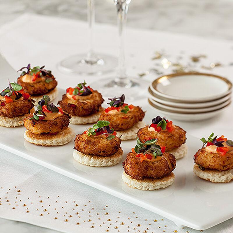 Asian Sriracha Crab Cakes