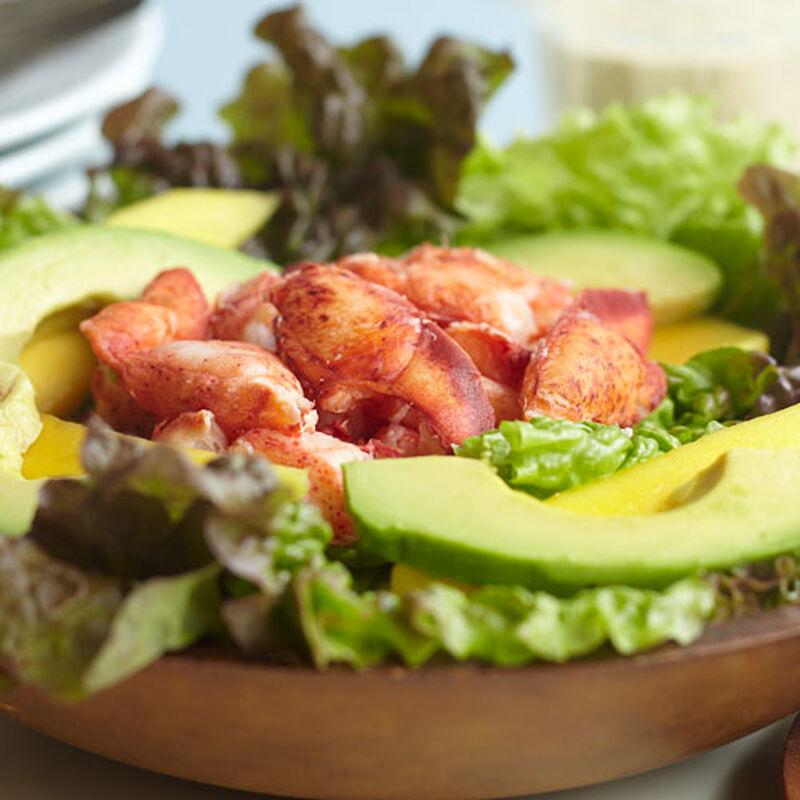 Lobster, Avocado & Mango Salad