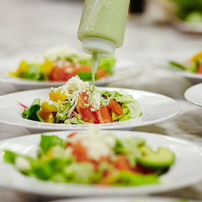 Butter Lettuce Salad with Green Goddess Dressing