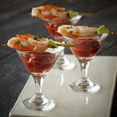 Shrimp Salsa Appetizer