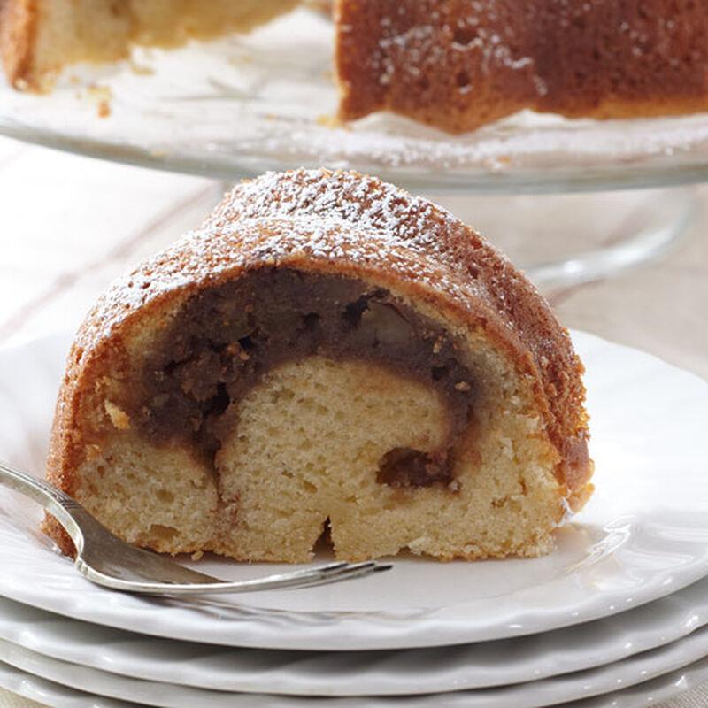 Caramel Apple Butter Bundt Cake