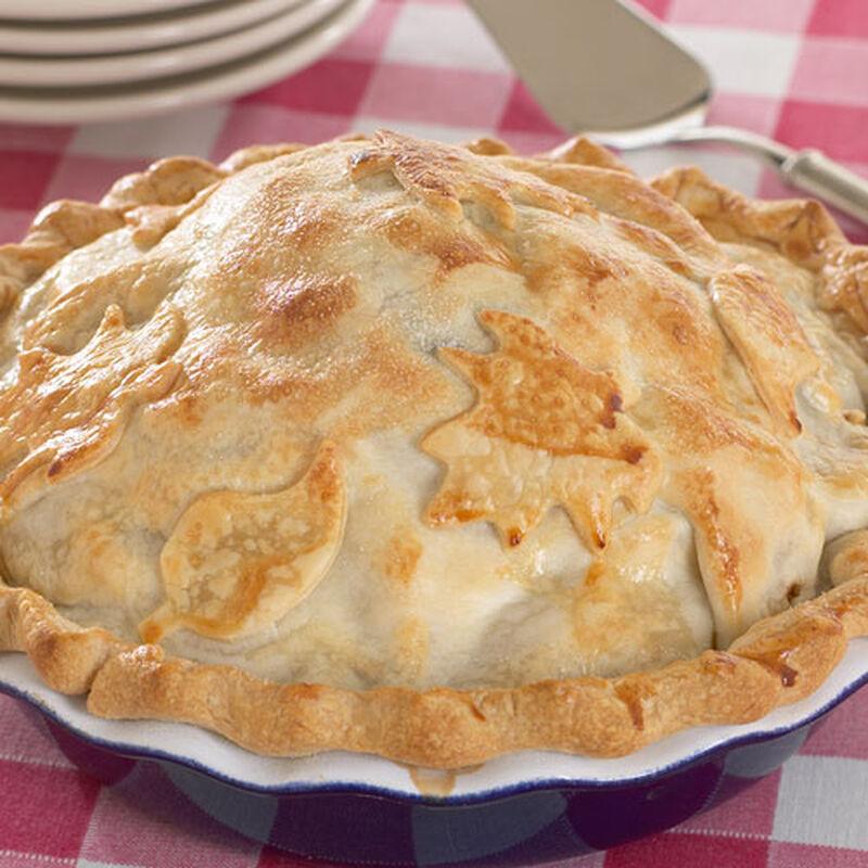 Fig & Walnut Butter Apple Pie