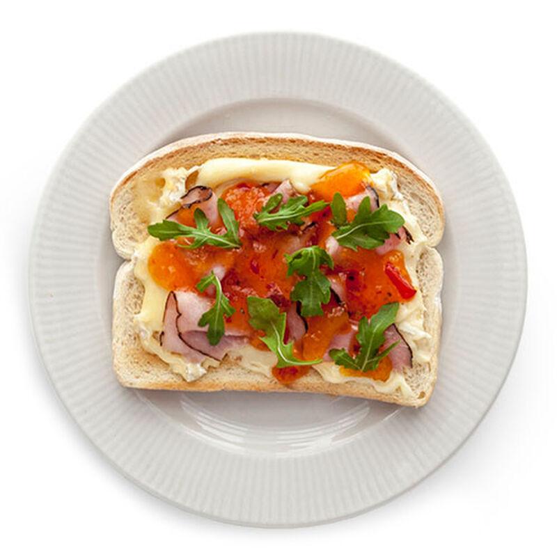 Ham & Brie Toast