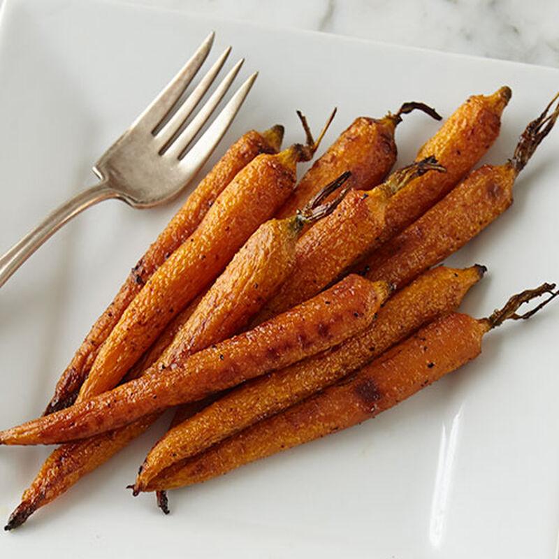 Honey Balsamic Roasted Carrots