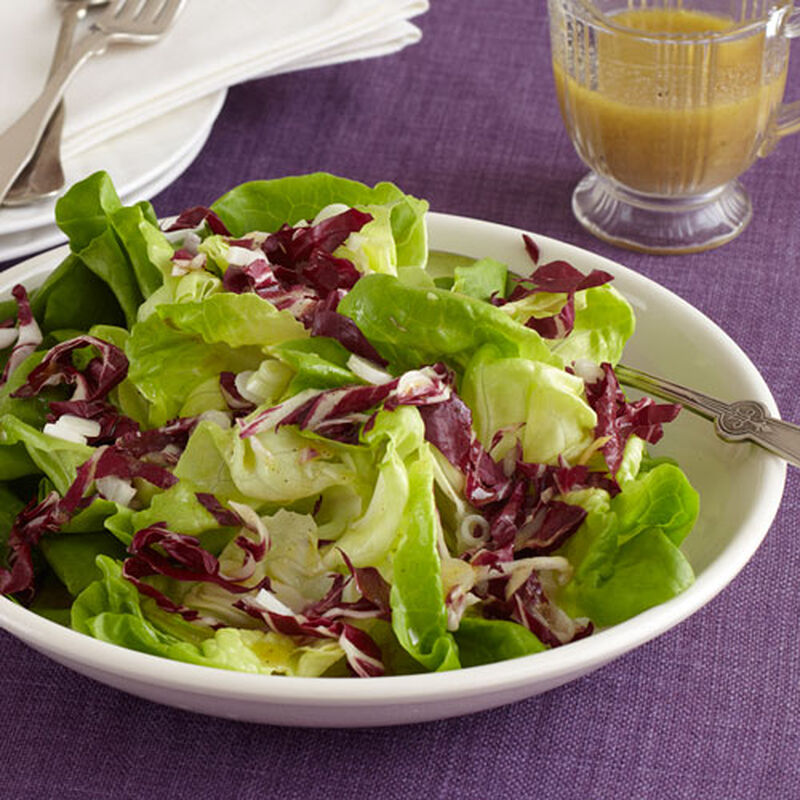 Bibb and Radicchio Salad