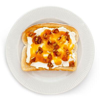 Maple Pumpkin Toast
