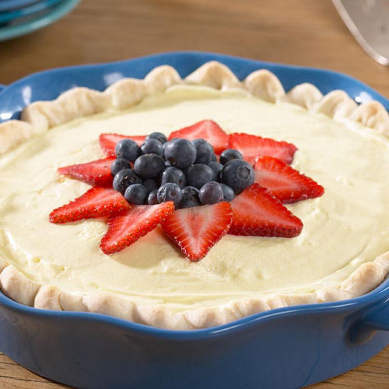 Strawberry Lemon Cream Pie