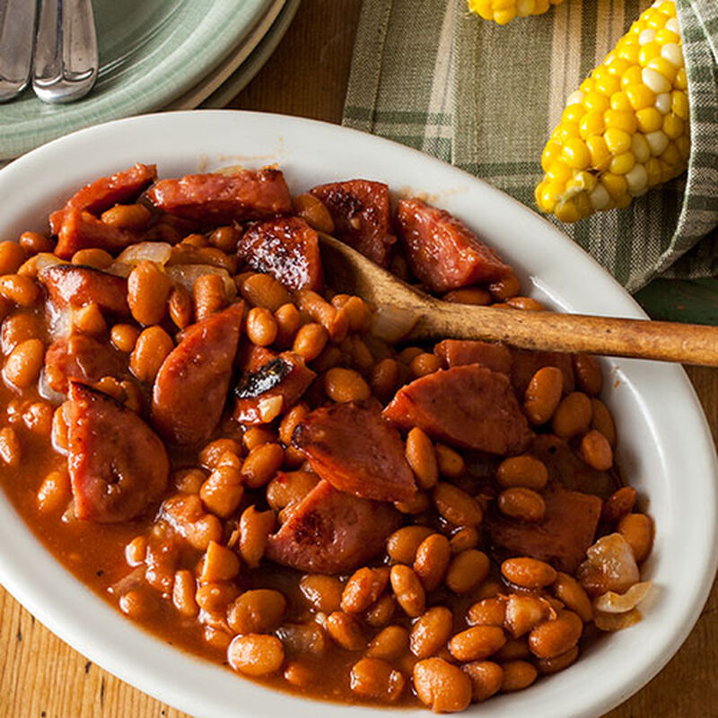 Honey Barbecue Baked Beans