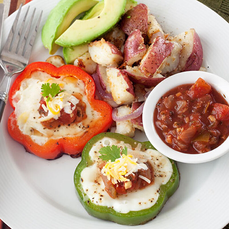 Mexican Egg In A Hole