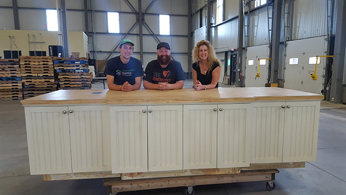 Stonewall Kitchen Donates Company Retail Store Fixtures And Furniture To Local Habitat For