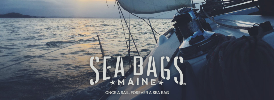 602ddf0b61 Designed from upcycled sails that have been used on working ships in  harbors across America