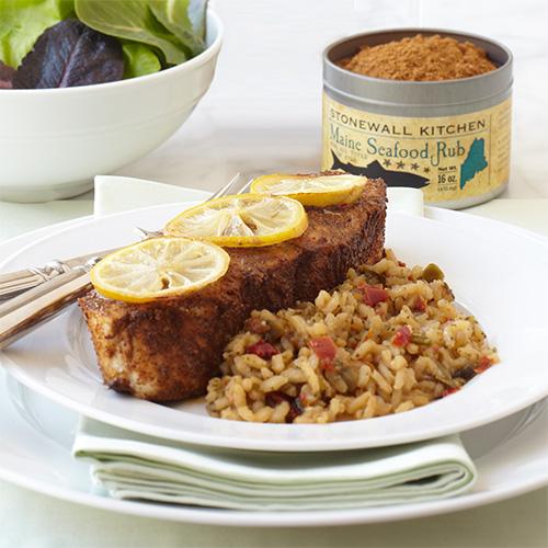 Maine Seafood Rub | Spices, Rubs & Pantry | Stonewall Kitchen