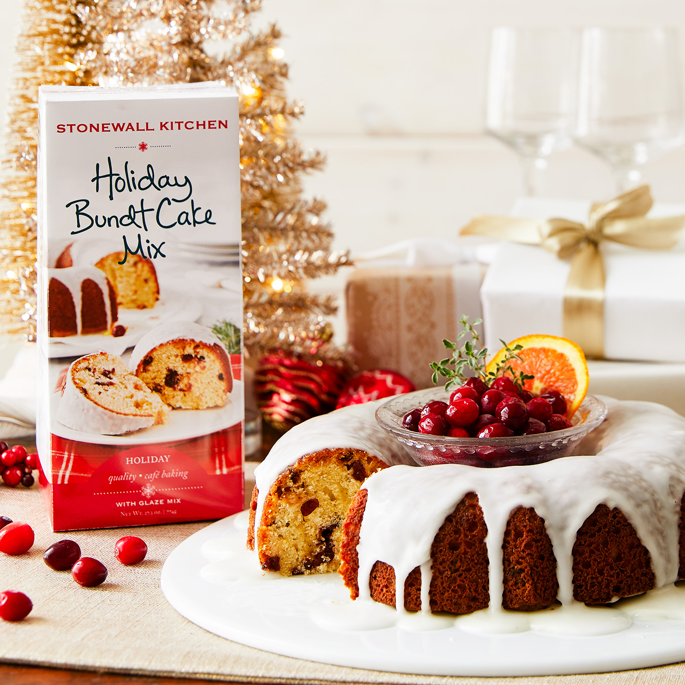 Holiday Bundt Cake Mix