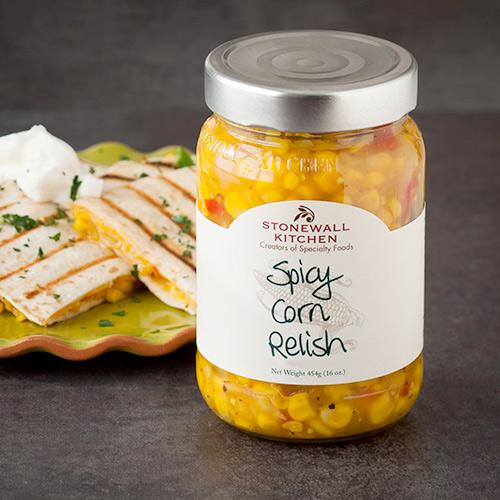 Spicy Corn Relish | Condiments | Stonewall Kitchen