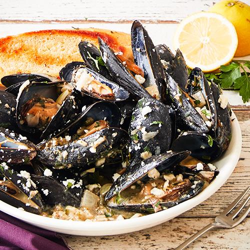 Mediterranean Style Recipes: Mediterranean Style Mussels