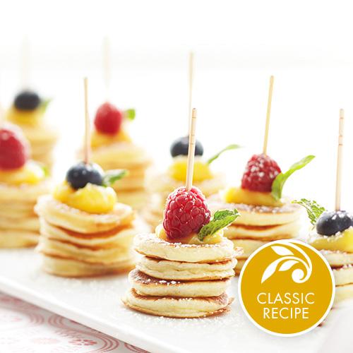 Mini pancake stacks recipes stonewall kitchen preparation info ccuart Images