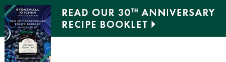 Read our 30th Anniversary Recipe Booklet