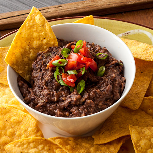 Bean Dip With Maple Chipotle Grille Sauce Stonewall Kitchen